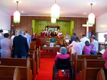 Homecoming Service 2009
